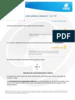 Tetravalencia del carbono y enlaces CC y CH