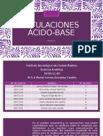 Titulaciones Acido Base