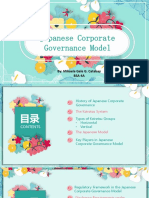 Japanese Corporate Governance PPT