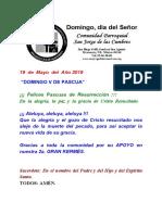 Misa Dominical San Jorge de Las Cumbres