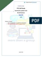 Pte Self Study - Sst & Rl - V.1.0