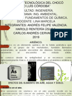 ARSÉNICO QUIMICA. A2H