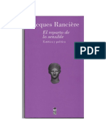 Ranciere - El Reparto de Lo Sensible