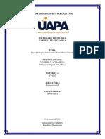 Maripal Rodriguez De La Rosa, Psicopatología I, actividad 1 y 2 (3).docx