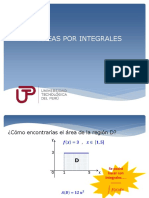 4 Areas Por Integrales