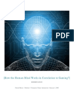 dissertation - how gaming effects the human mind