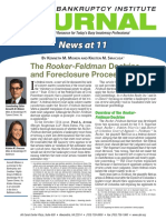The Rooker-Feldman Doctrine and Foreclosure Proceedings