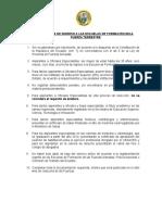 Requisitos Ingreso Esmil-2019