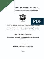 Volumenes de sustrato NPK en Calathea inocephala Tingo Maria Huanuco.pdf