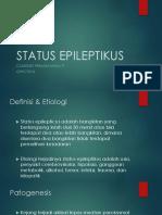 Classidio G99171014 Status Epileptikus