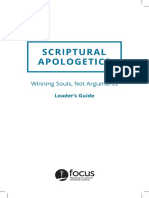 apologetics leader guide