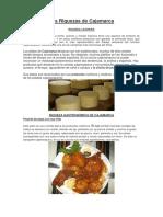 Las Riquezas de Cajamarca