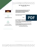 Aviso Registro de Titulosde Agua Del Departamento de Aguas de La Municipalidad de La Ciudad de Mixco