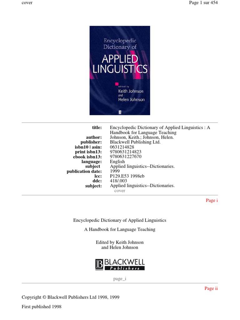 Applied linguistics second language second language acquisition fandeluxe Image collections