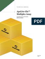 Apolive Glo Multiplex Assay Protocol