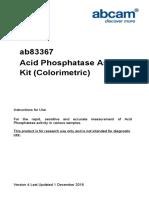 Ab83367 Acid Phosphatase Assay Protocol v4 (Website)