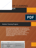 Modular Cleaning Program