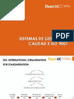 1.3.1 Sistemas de Gestion de Calidad e ISO 9001