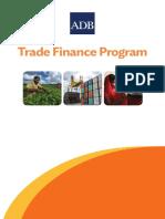 ADB Trade Finance Program Brochure 2018