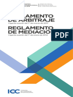 ICC 2017 Arbitration and 2014 Mediation Rules Spanish Version