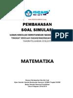 Pembahasan USBN MTK 1