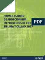 Primer Estudio de Adopción BIM Lima 2017