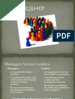 Leadership Updated