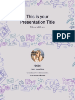 Miles Free Presentation Template