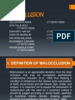 MALOCCLUSION PPT