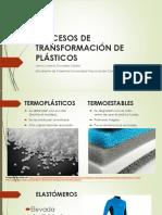 Procesos de Transformación de Plásticos