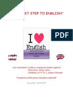 Optional Lb.engleza 2018