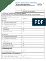 Swachhta Ranking Parameters PDF