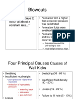 Causes of Kick