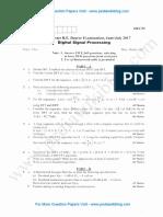 Digital Signal Processing July 2017 (2010 Scheme)