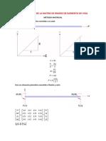 Condensacion Estatica de La Matriz de Ri