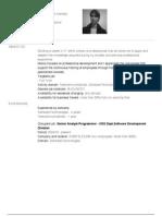 Alex Popescu CV