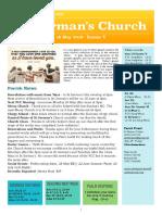 st germans newsletter - 19 may 2019 -  easter v