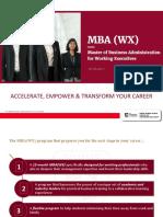 MBA(WX)