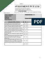 Probation Report