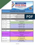 2019 PPhA NatCon Program Overview (05-Apr-2019)