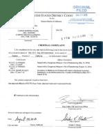 Mendota MS-13 Criminal Complaint