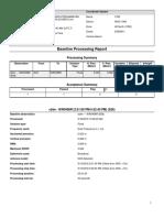 Baseline Processing Report IKR0458R