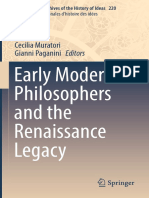 (International Archives of the History of Ideas Archives internationales d'histoire des idées 220) Cecilia Muratori, Gianni Paganini (eds.) - Early Modern Philosophers and the Renaissance Legacy-Sprin (1).pdf