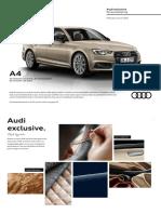 Audi broschure