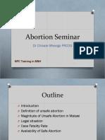 Abortion Seminar