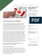 Canada Express Entry Eligibility 2017.pdf
