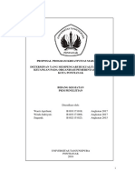 Penelitian mengenai kualitas laporan keuangan pada organisasi pemerintah yang ada di pontianak