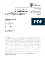The Systematic Study of How Subtle Forms of Bias Related to Prosocial Behavior Operate in Racial and Gender Relations