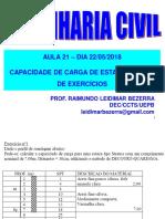 Aula 21-22-05-2018_Aula de Exercícios_Estacas
