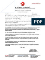 Declaration of Business Module
